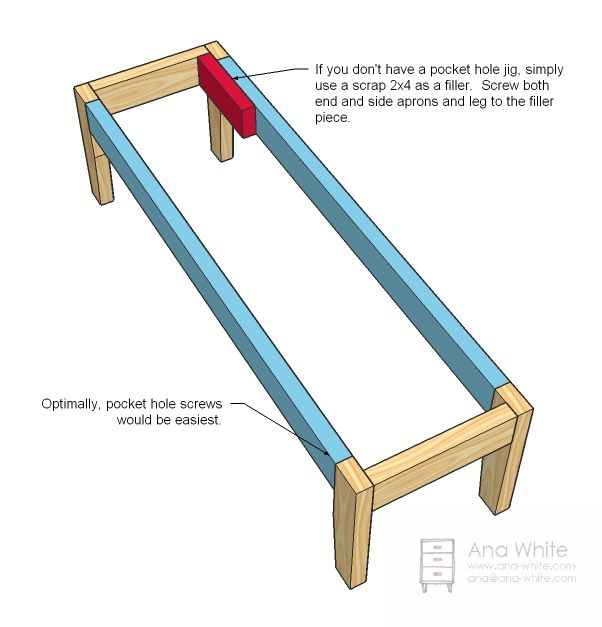 ... Bench on Pinterest | Diy bench, Bench plans and Pallet work bench