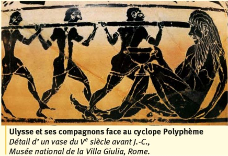 La culture grecque : l'Iliade et l'Odyssée