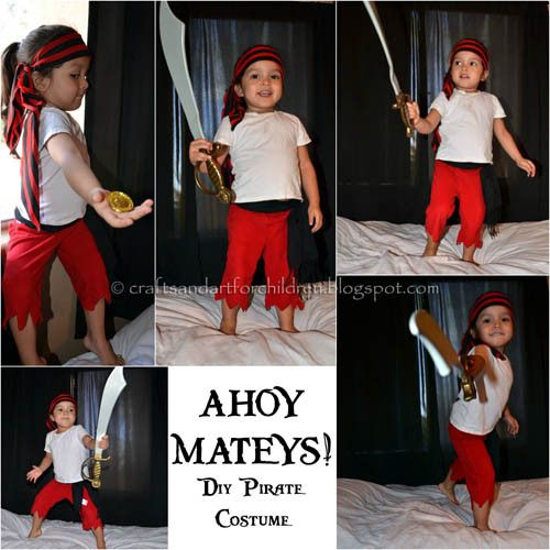 39 best yo ho pirate inspiration for all images on pinterest diy pirate costume for kids toddlerplay pretendplay playmatters kidscostume solutioingenieria Image collections