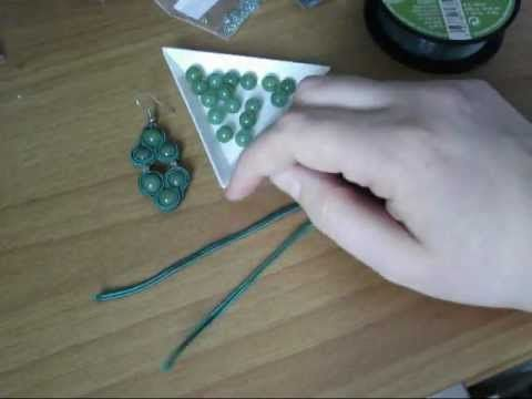 Tutorial:♥ Orecchini Soutaches - Prima Parte