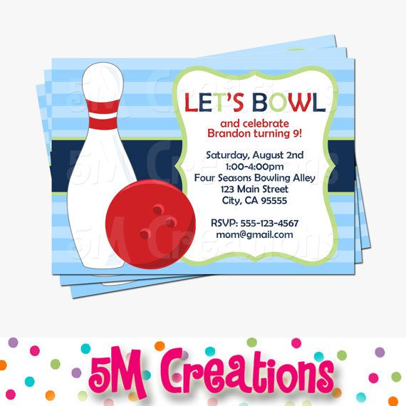 119 best Lukas BOWLING images on Pinterest Birthdays, Bowling - bowling flyer template free
