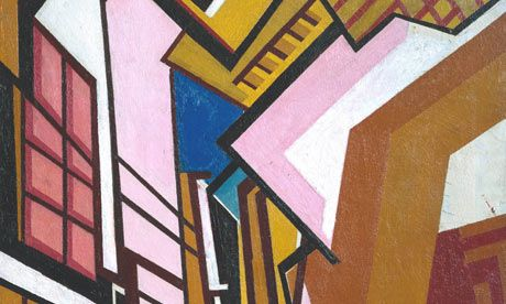 Vorticist paintings unseen for almost 100 years shown at Tate Britain | Art and design | The Guardian