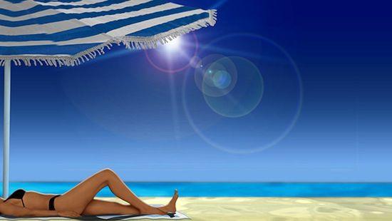 La playa y tomar SOL!!!!!
