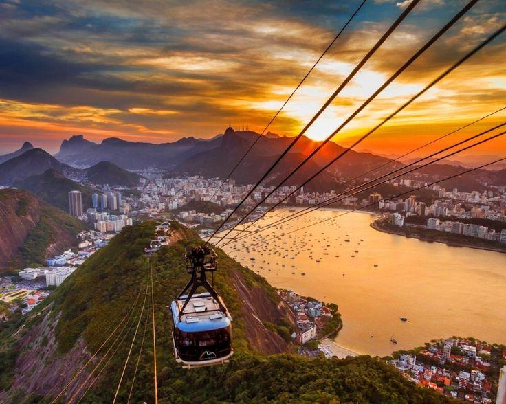 A breath-taking Cable Car ride at Rio De Generio, Brazil