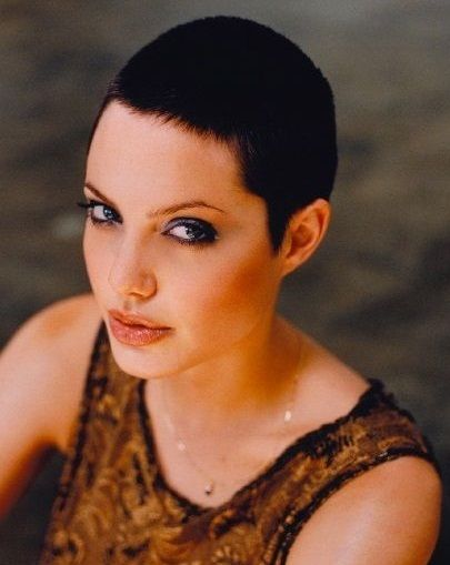 Best 25 angelina jolie short hair ideas on pinterest angelina angelina jolie photographed by naomi kaltman for the los angeles times urmus Image collections