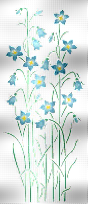 Flores silvestres azules cruz puntada patrón flor Floral Wall Art PATRÓN DE PDF SÓLO Tela: Aida 14 de la cuenta Contado en punto de Cruz Puntos: 87 x 201 Tamaño: 6,21 x 14.36 pulgadas o cm de 15.78 x 36.47 Colores: DMC Count: 54 Plantilla Referencia XSTCH-00236 Usted recibirá este patrón como descarga digital y necesita Adobe Acrobat para visualizarlo. Adobe Acrobat Reader se puede descargar en www.adobe.com. Todos los patrones son generados por computadora y recibe el patrón solam...