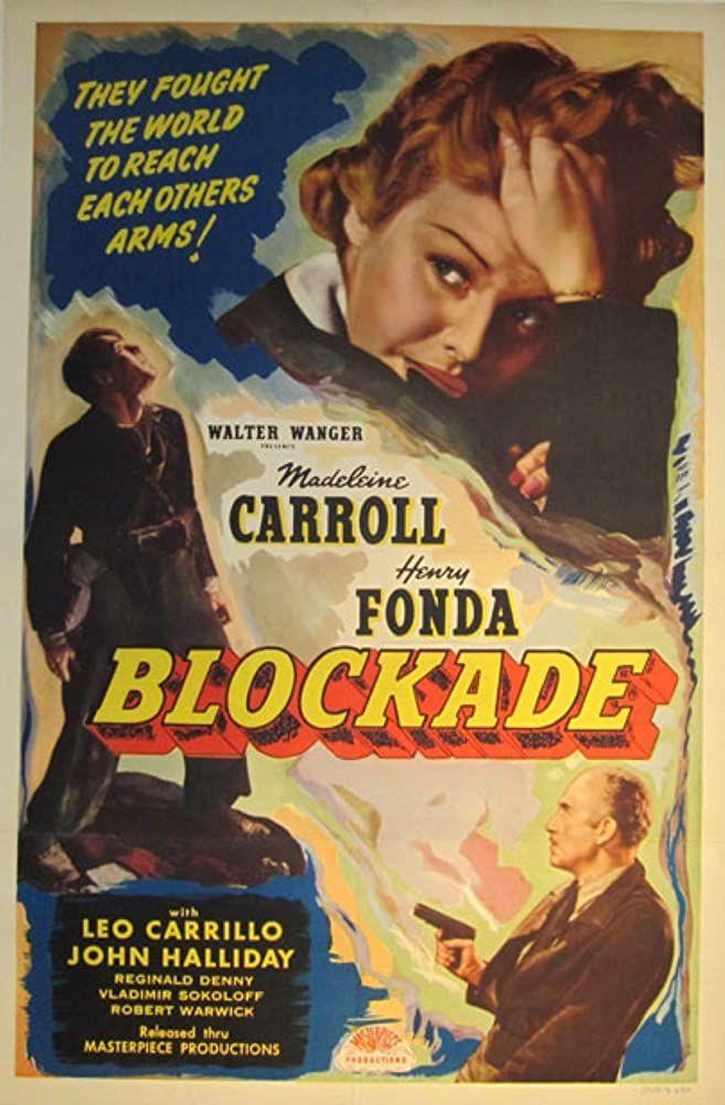 Blockade (1938) in 2020 | Vintage advertising posters ...