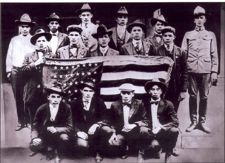 Choctaw Code Talkers WWI