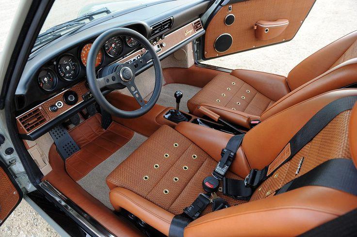 Singer Porsche - New York. Buckets like this! In original tan colour Delete centre console