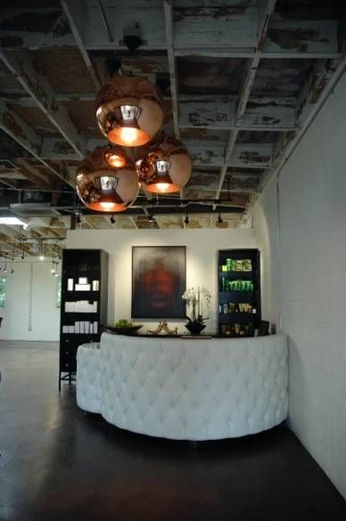 Reception at Andy Lecompte Salon