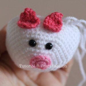 Piggy Bun AmigurumiFree Pattern Amigurumi, Ears and Patterns
