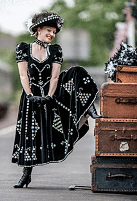 """My Fair Lady"" inspiration - Pearly Queen"