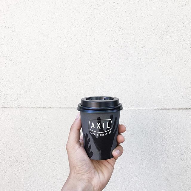 One of the many coffee stops enjoyed in Melbourne. Slick cup design.