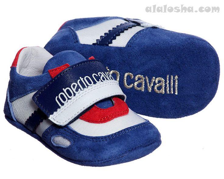 ALALOSHA: VOGUE ENFANTS: Baby Boys Pre-Walker Shoes FW'14 #robertocavalli