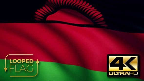 Malawi Flag 4K