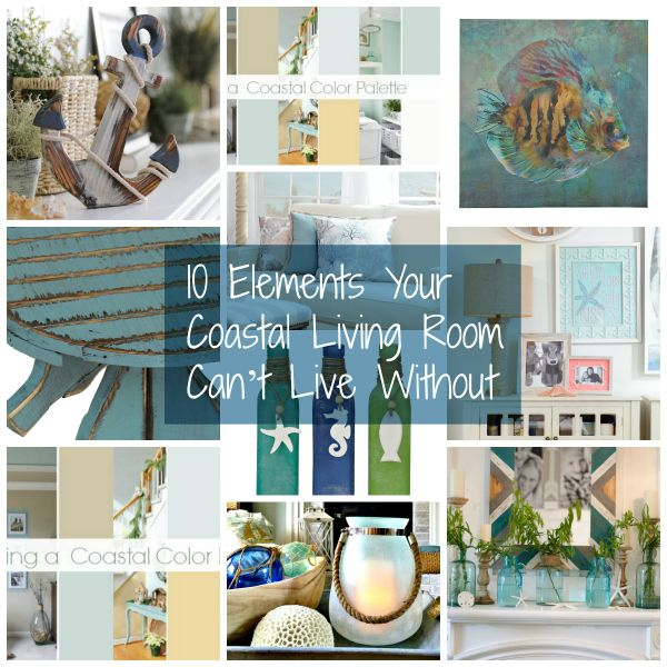 10 Elements Your Coastal Living Room Can't Living Without | Kirkland's