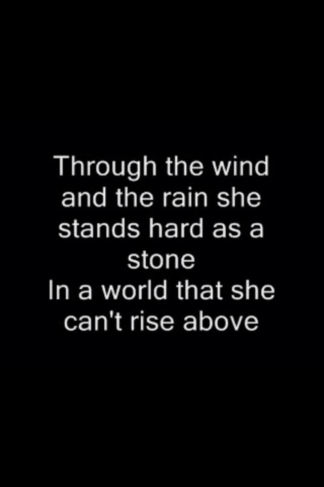 Martina McBride - Concrete Angel Lyrics | Musixmatch