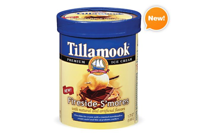 A must try!! Hands down my absolute favorite ice cream! Fireside S'mores- Tillamook