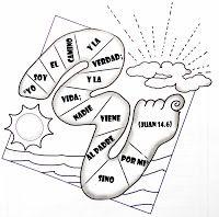 Escuelita Biblica Infantil Actividades Unidad I Los Dos Cami Clase Dominical Para Ninos Versiculos De La Biblia Para Ninos Historias De La Biblia Para Ninos