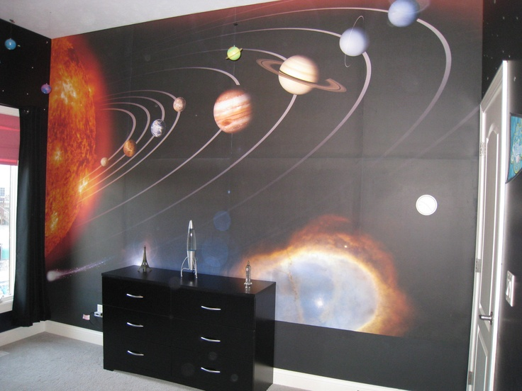 17 best images about murals space on pinterest for Astronaut wall mural