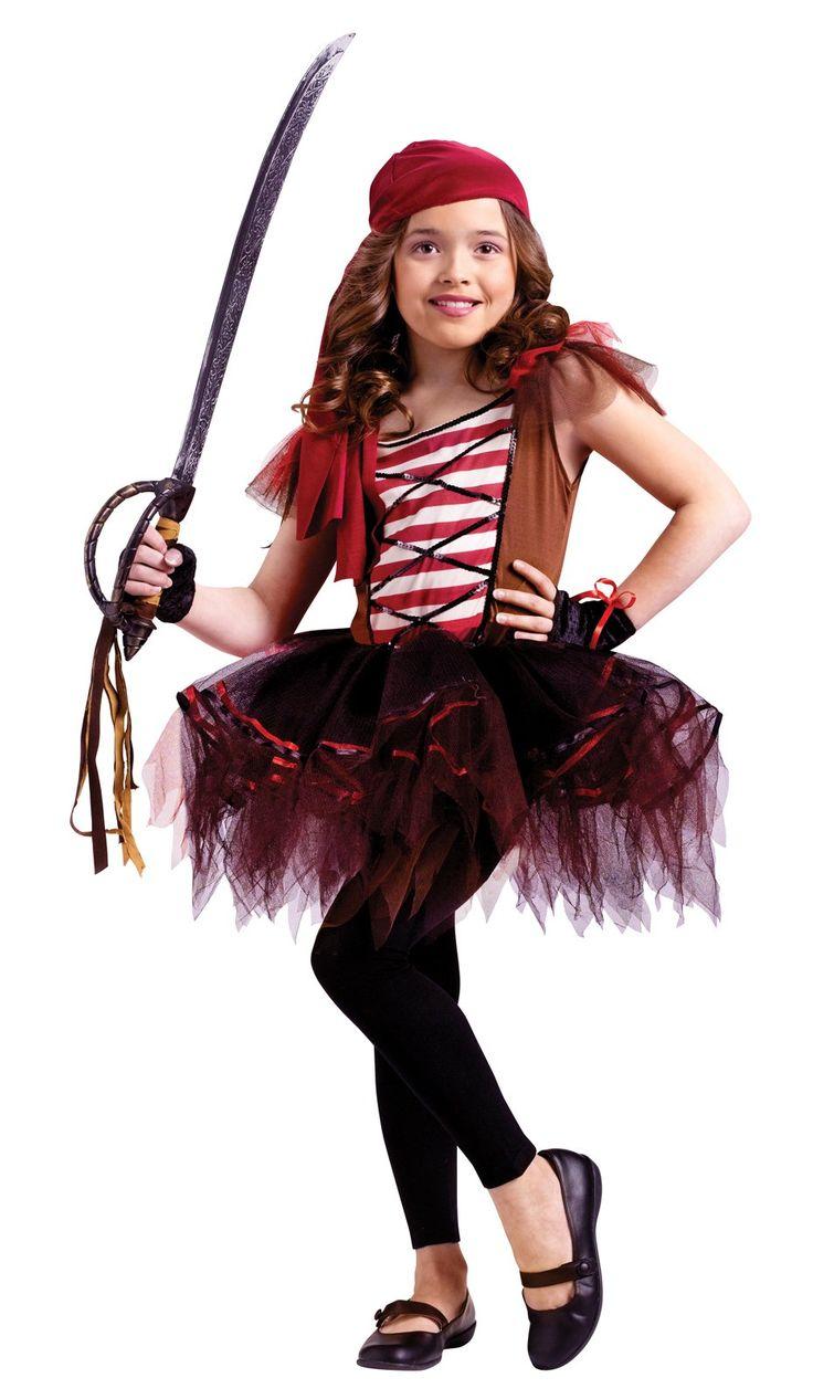 Ballerina Pirate Child Costume