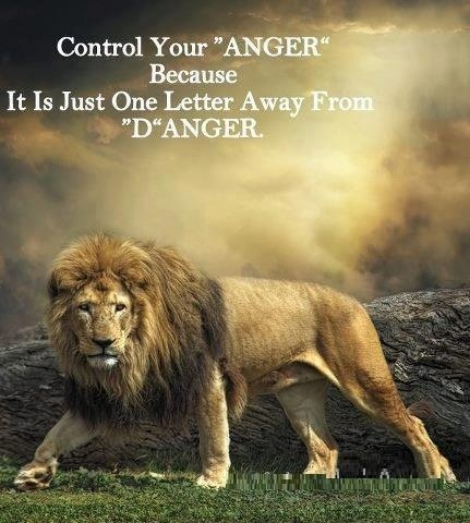 Anger...