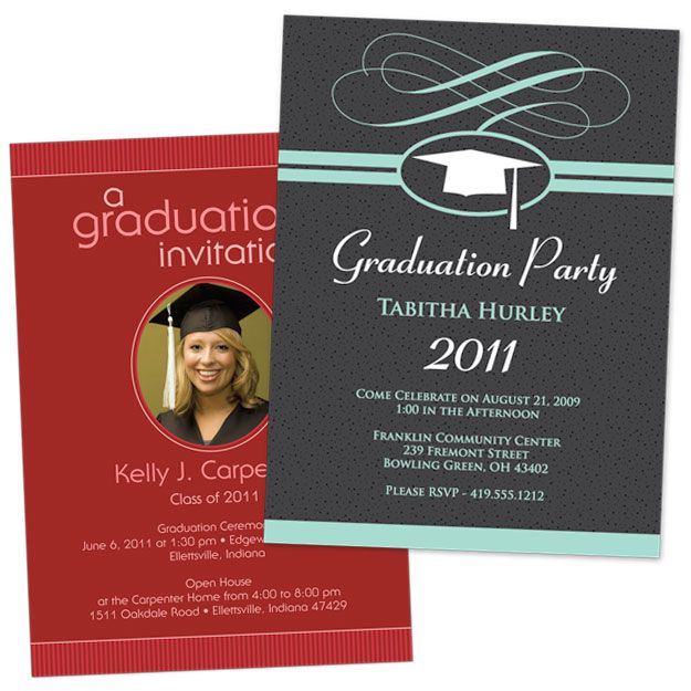 free printable graduation invitations Graduation Invitation Cards