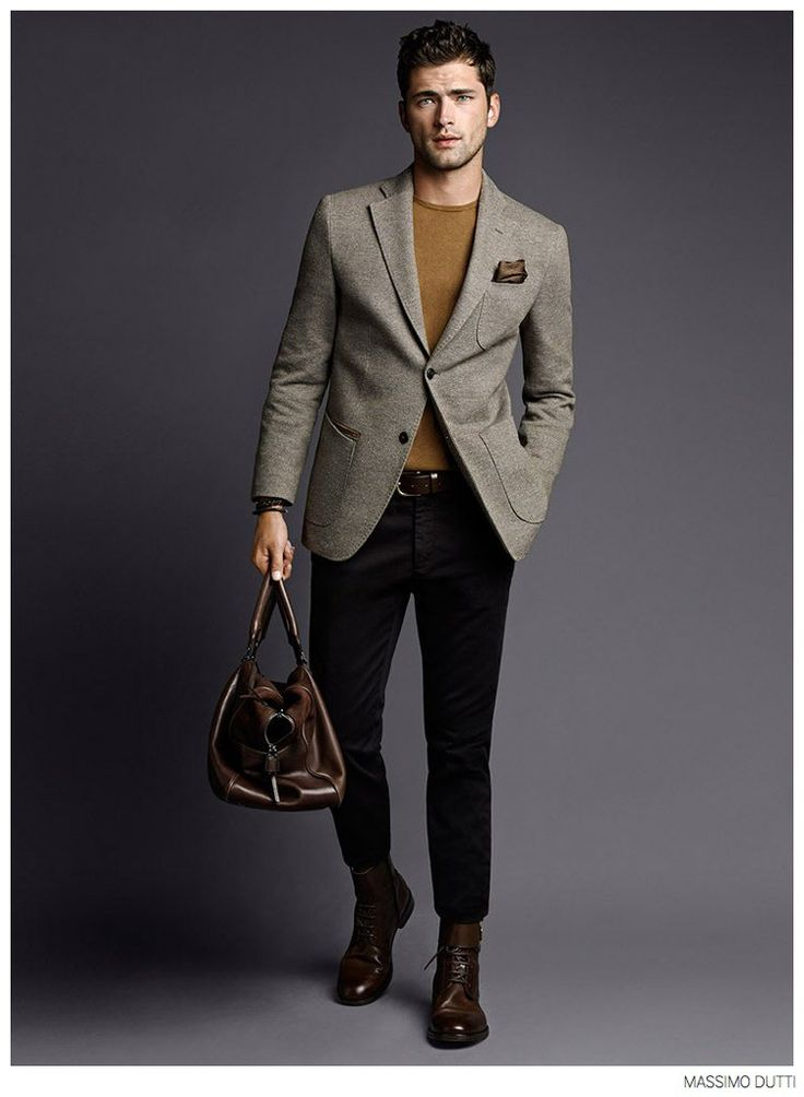 Sean OPry Models Fall 2014 Looks for Massimo Dutti i