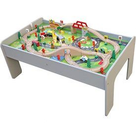 Classic Wooden Train Table, now in soothing Grey! This train table with 90 Pcs train set is a great addition to any playroom. Featuring a classic train tableconcept, but with a hint of grey. Makes it an adorable toy set to gift any childthis year!Young ones can now go on an adventure with the90- Pieces […]