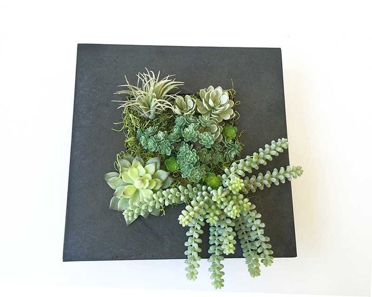 Succulent wall planter, hanging succulent arrangement, faux succulent, vertical garden, wall hanging, hanging planter, wall deco by dirtcouture on Etsy https://www.etsy.com/listing/257393713/succulent-wall-planter-hanging-succulent