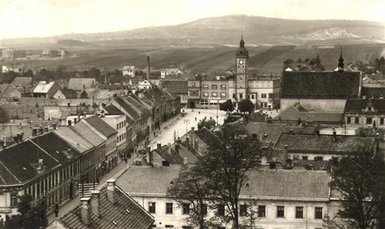 Masarykovo náměstí, po roce 1940-3