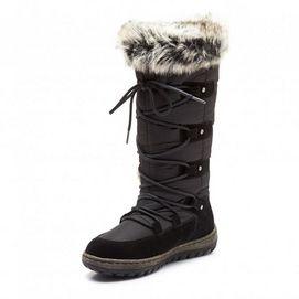 Henri Pierre(MD) Botte d'hiver imperméable « Gastone » en cuir pour femme | Sears Canada #SearsWishlist