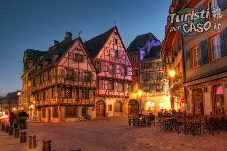 Strasburgo Francia, luglio 2015 - Alsazia:strasburgo e Colmara