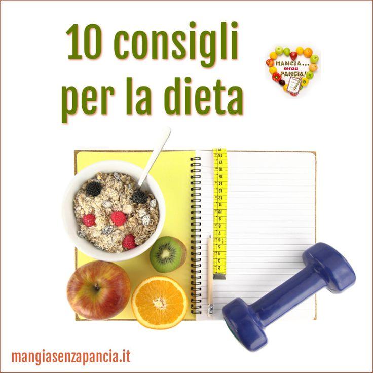 Siete a dieta e vi sentite demotivati? Allora provate a leggere questi 10 consigli per la dieta, ideali per chi segue la Weight Watchers o altre diete!