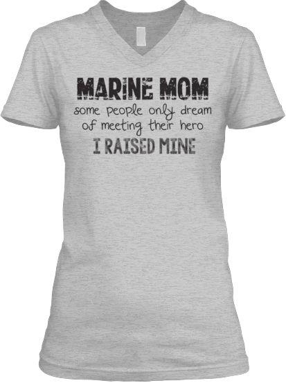 Limited Edition Marine Mom Shirts | Teespring