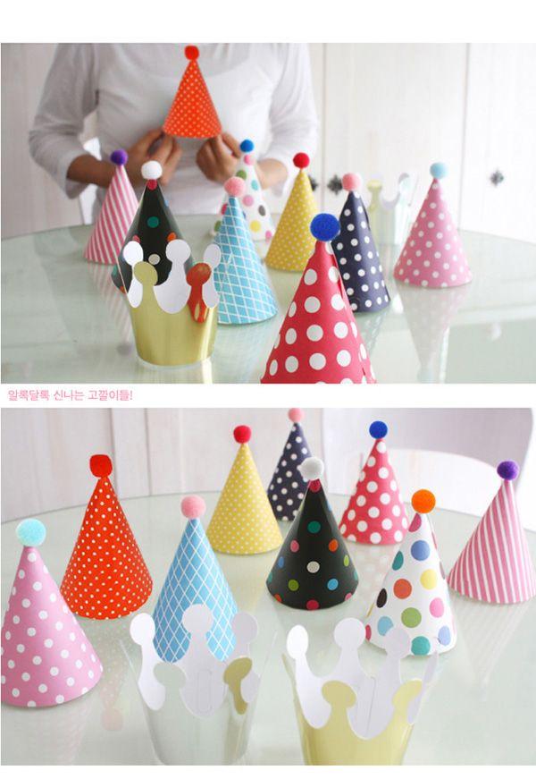 Ну вечеринку празднование корейский мило ну вечеринку шляпы день рождения праздничный ну вечеринку фотографируем детали оптовая продажа на день рождения ну вечеринку украшения дети