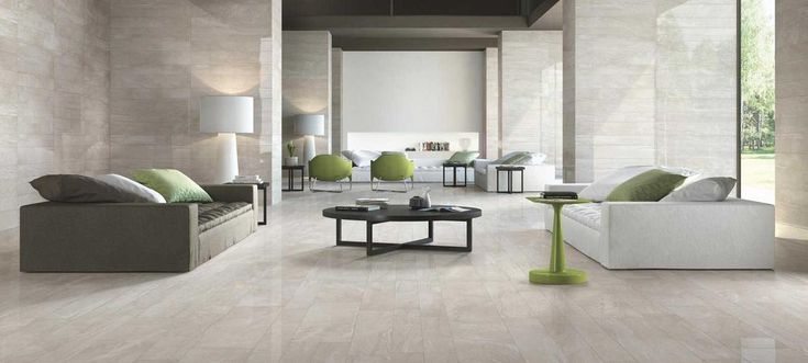Symphony - marble-look stoneware floor and wall tiles