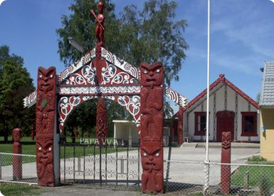 Papawai marae is home to the people of Ngati Moe and the former Maori Parliament.
