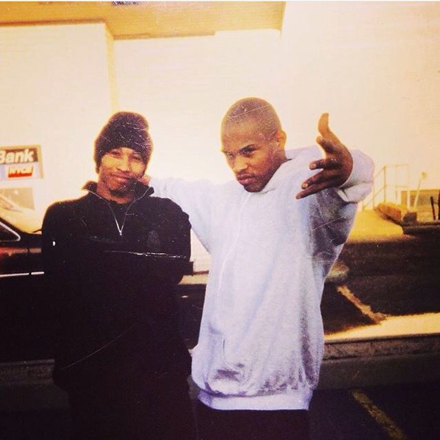 Fredro Starr and Sticky Fingaz, known together as Onyx, 1993.