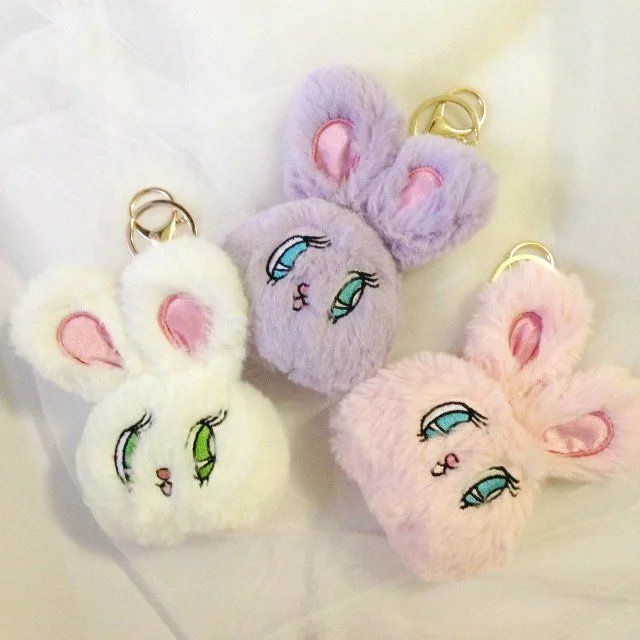 Cheap Children Gift Buy Quality Gifts Directly From China Cute Suppliers Super Kawai Fancy Dream Eyes Rabbit Soft Plush Dolls Handle