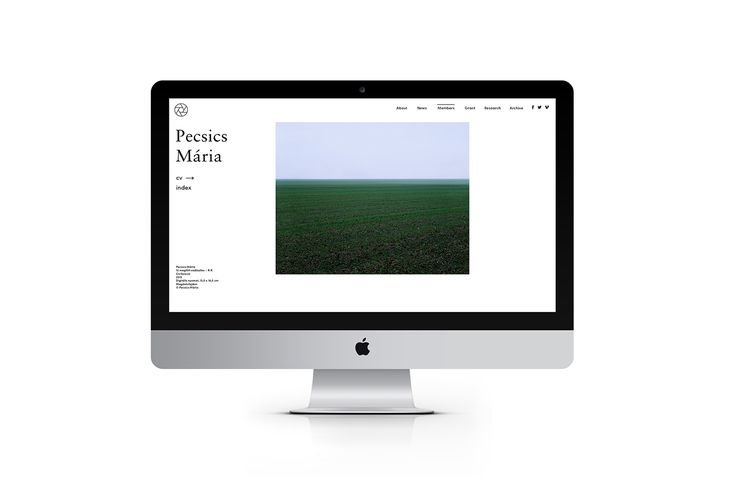Association of Hungarian Photographers, Identity&Web on Behance