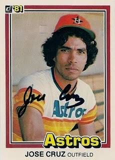 Astros' Jose Cruz -- what a baseball player back in the day!