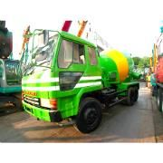The Used Mitsubishi Fuso FV415K A 30097 Concrete Mixer Truck is a trusted heavy vehicle in the Super Great Series. Used Mitsubishi Fuso FV415K A 30097 Concrete Mixer Truck is a great aid for all concrete delivery tasks.