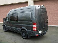 """Looking to sleep sideways in your Mercedes Sprinter144""""WB camper van? These Mercedes Sprinter Campervan Body Flaresreplace the stock rear upper body panels in"""