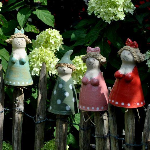 33 besten ton ton und noch mal ton bilder auf pinterest for Gartenfiguren aus keramik
