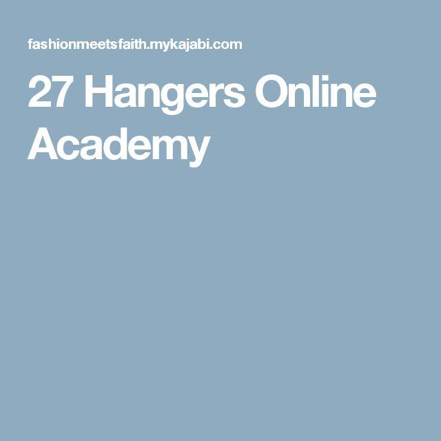 27 Hangers Online Academy