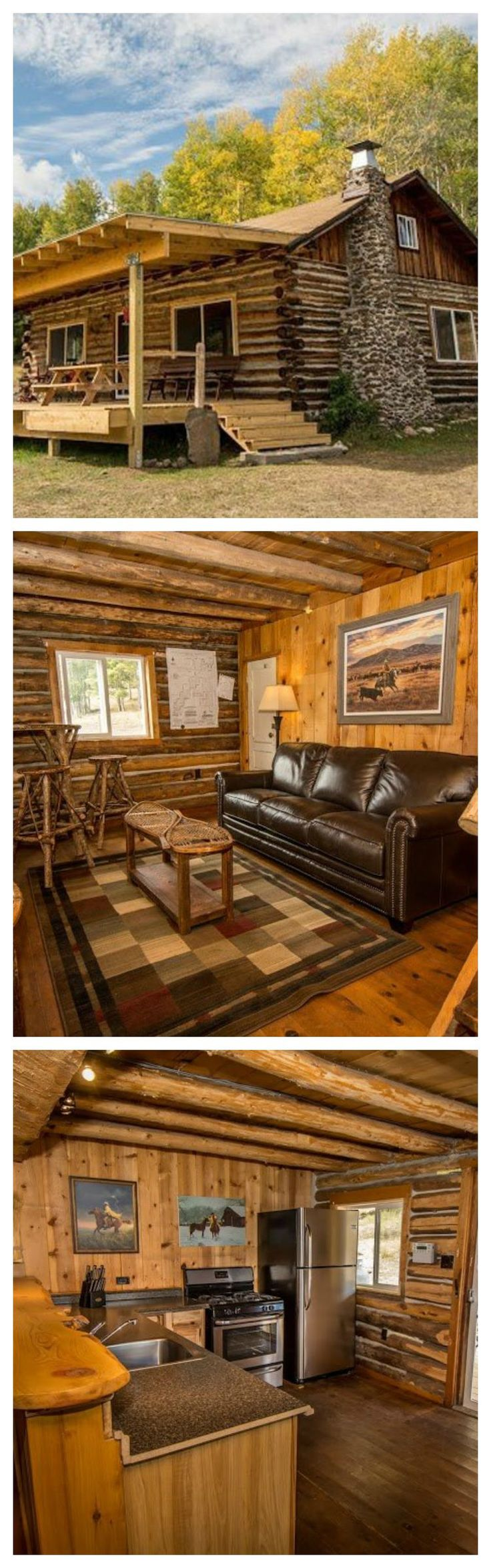 If you've been searching for a woodsy hideaway that will awake your inner cowgirl, then your hunt stops here. This historic homestead has a gorgeous fully restored log cabin, sitting on 160 acres in Northern New Mexico.