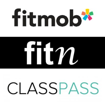 Fitmob, Fitn, and Class Pass comparison guide for studio workouts in San Diego.