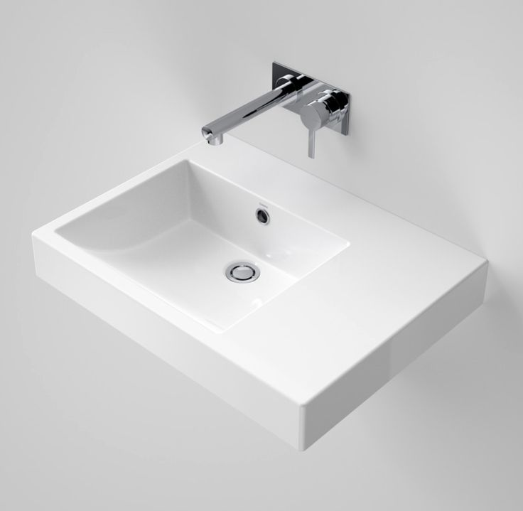 Liano Nexus 600 RHS Wall Basin - Wall Basins - Basins - Bathware Direct