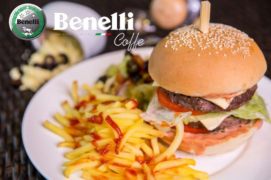 We welcome you to Benelli Caffe for a delicious food and environment .. For more Detail you can call or email Tel : 042434968 Email: info@benellicaffe.com www.benellicaffe.com #dubai #downtown #caffe #cafe #resturenents #burjkhalifa #abudhabi #dubaimall #food #bestdeals #cocktails #refreshment #bikes #membership #discount #breakfast #dealoftheday #happyhour #qualityfood #pizza #bikers #entertainment #family #kids #burjularab #sandwiches #netualla #crepes #benellicaffe #benelliburgers